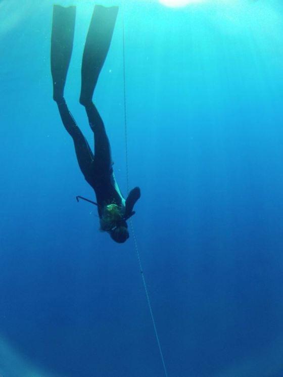 72 Feet deep!